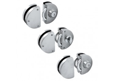 GL 618 'ENZO' Sliding Glass Lock (Single Key)