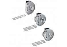 GL 618-W 'ENZO' Sliding Glass Lock (Single Key)